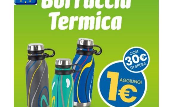 Eurospin borraccia 1 euro