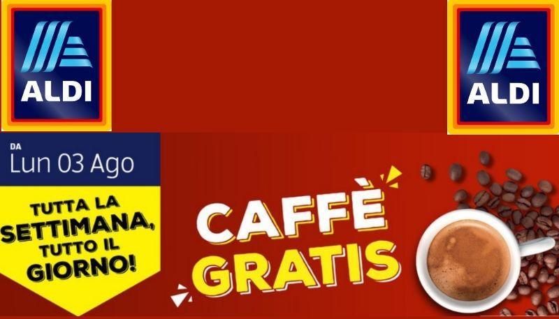 caffè gratis da aldi