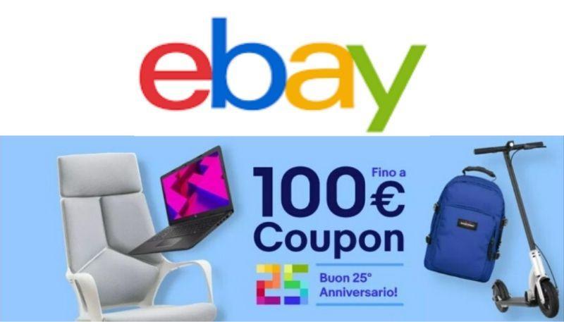 ebay codice sconto del 5%