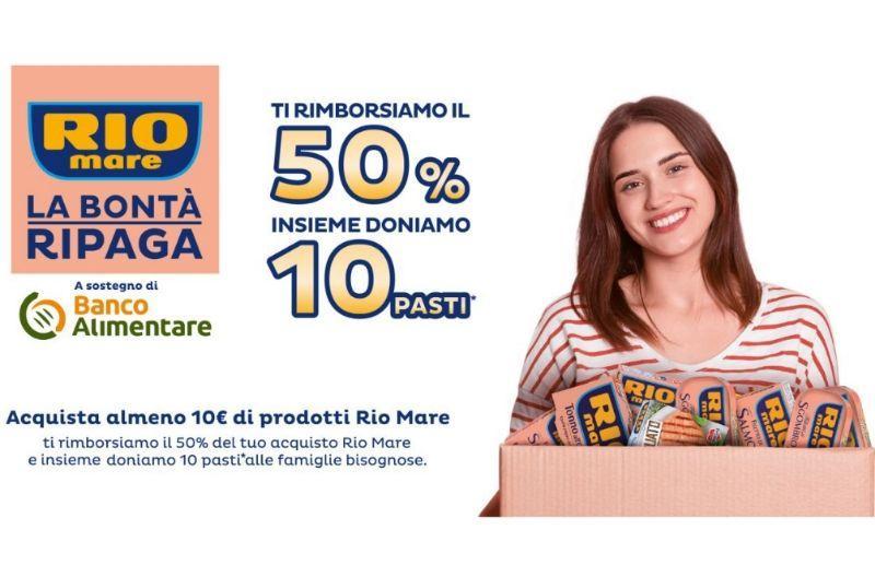 Rio Mare RIMBORSO del 50%