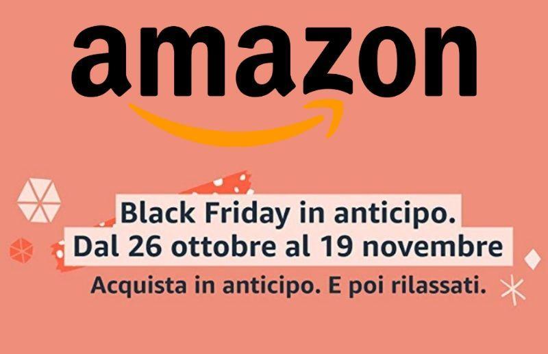 Amazon Black Friday 2020 in anticipo