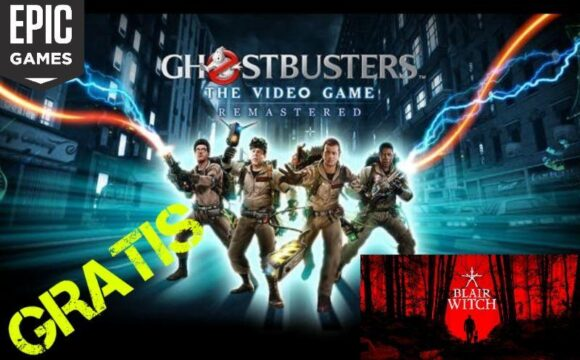 GRATIS Ghostbusters + Blair Witch su epic games