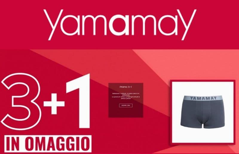 Yamamay promo 3+1