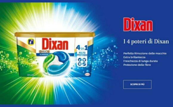 Campione omaggio Dixan Discs 4in1