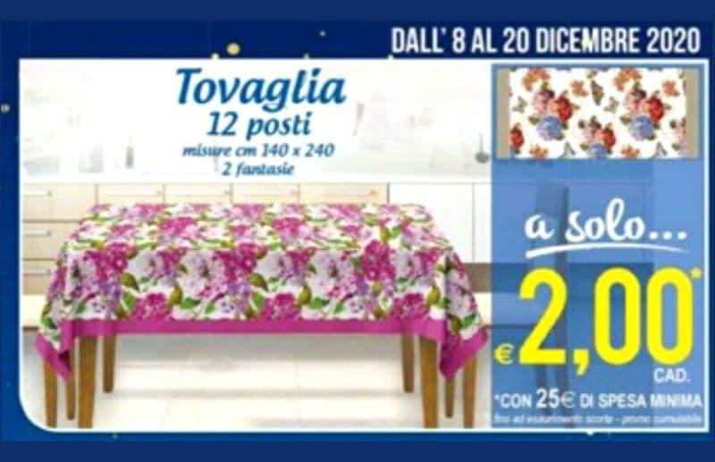 MD tovaglia 12 posti a soli 2€