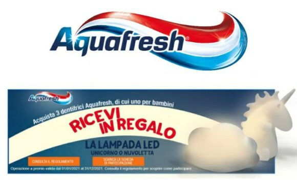 Aquafresh concorso con premio sicuro!