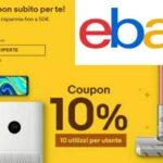 Codice Sconto Ebay del 10%, PIT10PERTE