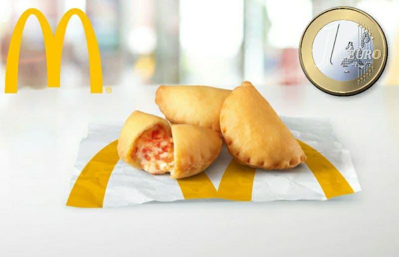McDonald's panzerotti a 1 euro