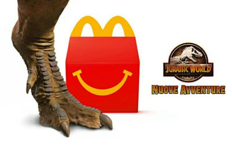 Happy Meal McDonald's : Ecco Jurassic World