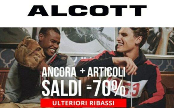 Saldi Alcott fino al 70% - Ulteriori Ribassi!