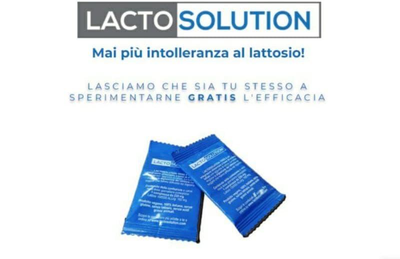 Campioni omaggio Lactosolution 15000