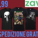 Zavvi T-Shirt Marvel a 9,99 euro!