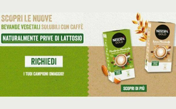 Campioni omaggio Nescafè Mandorla Macchiato e Avena Macchiato