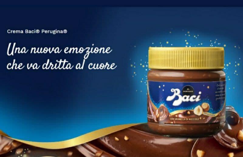 Crema Baci Perugina novità Nestlé