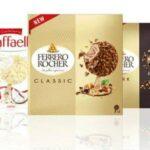 Gelati Raffaello e Ferrero Rocher novità in arrivo
