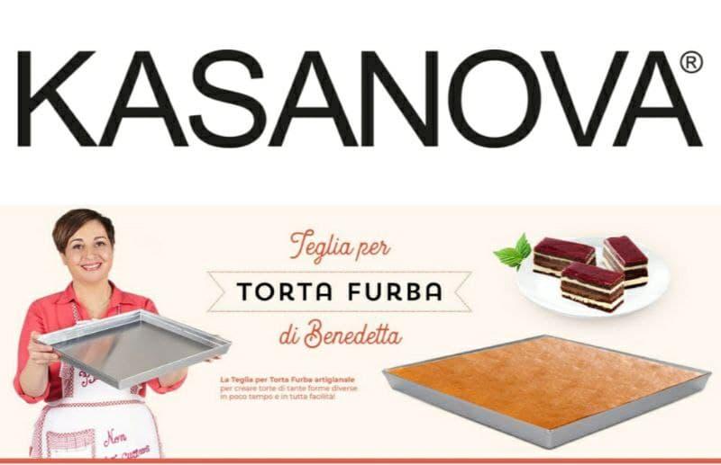 Kasanova per Benedetta Rossi scopri la teglia furba!