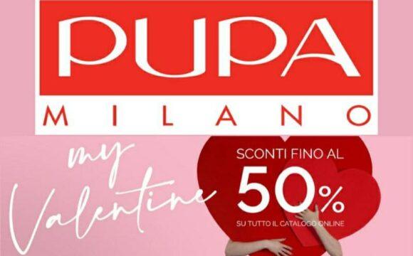 Pupa Happy Valentine's Week, saldi fino al 50%