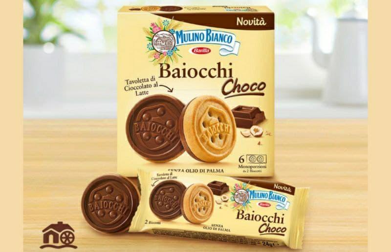 Baiocchi Choco Mulino Bianco novità con cioccolato
