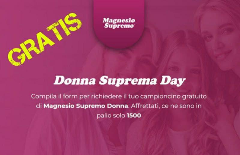Campioni Omaggio Magnesio Supremo Donna e Magnesio Supremo