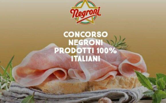 Concorso Negroni 2021 vinci gift cards da € 50