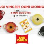 Concorso San Carlo vinci set di cocotte Le Creuset