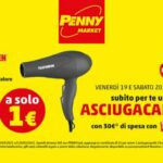 Penny Market Asciugacapelli Telefunken a solo 1 € 19 e 20 marzo