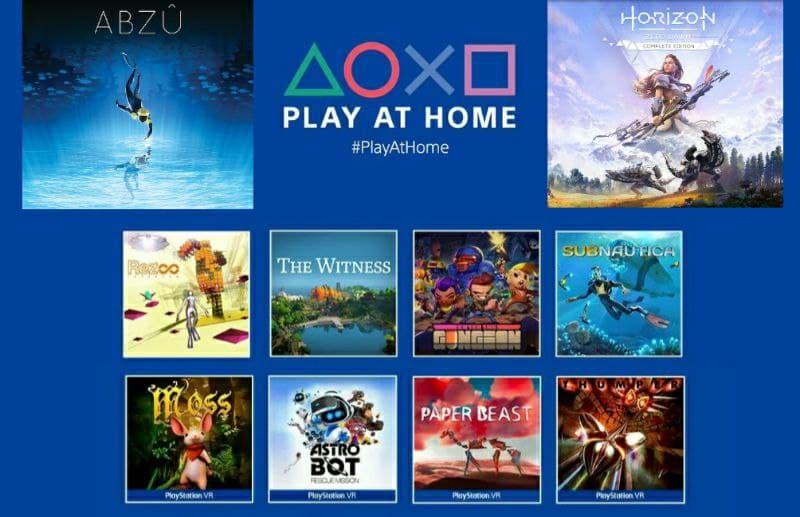 "Playstation Giochi Gratis ""Play At Home Continua"""