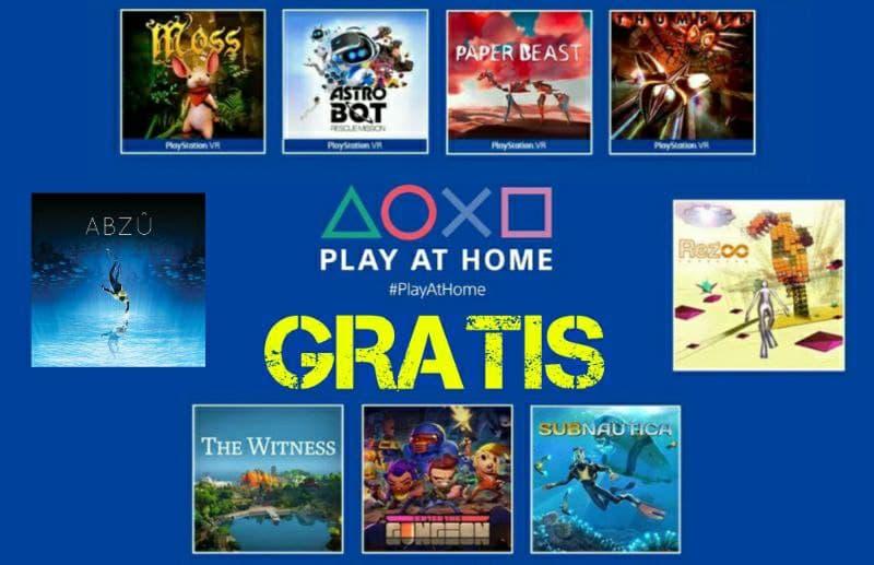 Playstation Play at Home Continua 9 giochi Gratis