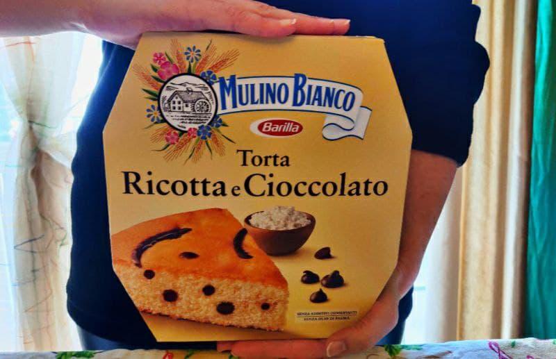Recensione torta ricotta e cioccolato Mulino Bianco