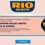 Rio Mare nuovo concorso, vinci Samsung Galaxy Watch