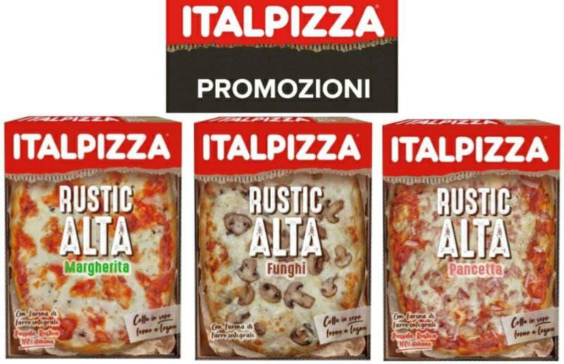 Buono sconto Italpizza Rusticalta da 1 euro 3 gusti stampa gratis per risparmiare