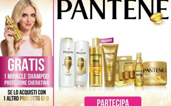 Cashback Pantene Miracle Shampoo rimborso shampoo miracle protezione cheratina