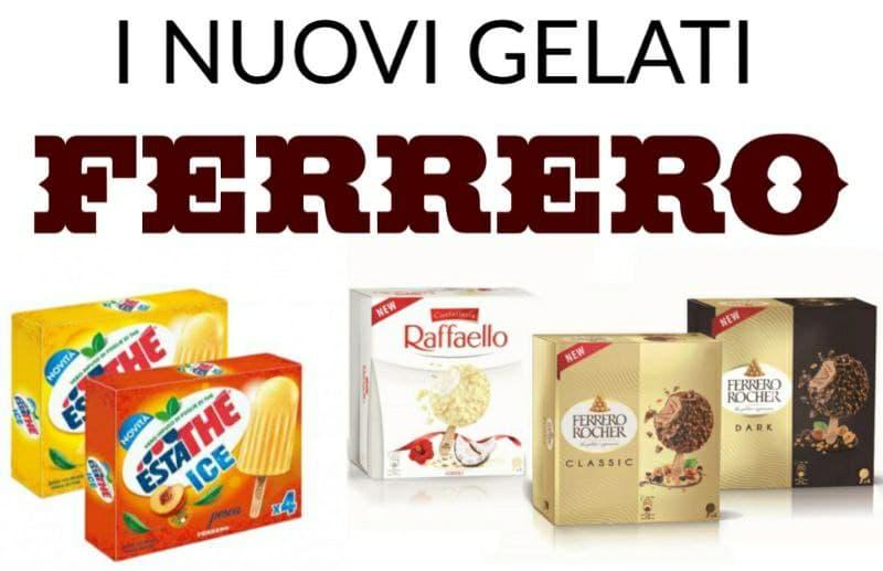 Gelati Ferrero Rocher, Raffaello e il ghiacciolo Estathé news ufficiale