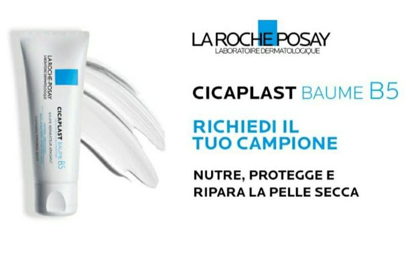 Campione omaggio La Roche-Posay Cicaplast Baume B5 balsamo multifunzione fino a esaurimento scorte