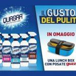 Premio sicuro con Quasar una lunch box Guzzini il gusto del pulito