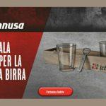 Premio certo birra Ichnusa scopri come ricevere il kit comprende vassoio 2 bicchieri apribottiglie