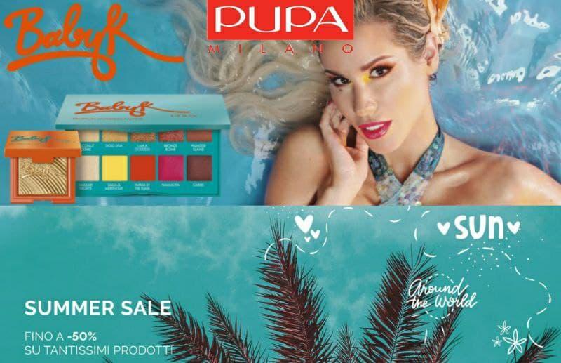 Pupa Summer Sale, saldi fino al 50%