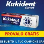 Campione omaggio Kukident Expert crema adesiva per dentiere