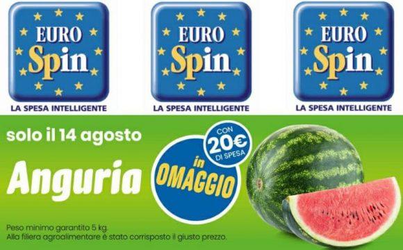 Eurospin anguria in omaggio anche quest'anno il 14 agosto