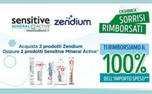 Cashback Zendium Mentadent Sensitive Mineral Active ricevi il pieno rimborso