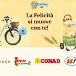 Concorso Mulino Bianco vinci biciclette elettriche carrelli portaspesa
