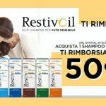 Restivoil Ti Rimborsa, nuovo cashback del 50% su uno shampoo