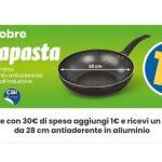 Eurospin Padella Saltapasta Wok a solo 1€ nei giorni 1 e 2 ottobre con 30€ di spesa