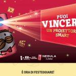 Partecipa al nuovo Concorso Celebrate Pringles 2021 Acquista un prodotto Pringles e vinci un proiettore Nebula by Anker personalizzato